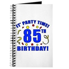 85th Birthday Party Time Journal