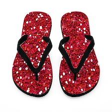 Red Glitter Flip Flops Brides Maid Survival Kit