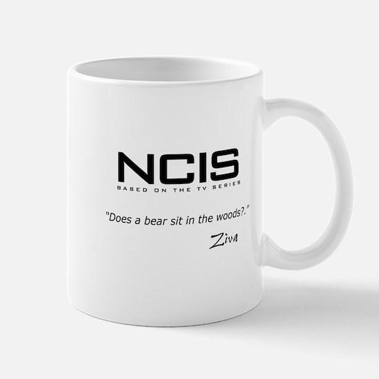 NCIS Ziva David Bear Quote Mug