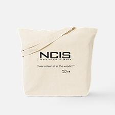 NCIS Ziva David Bear Quote Tote Bag