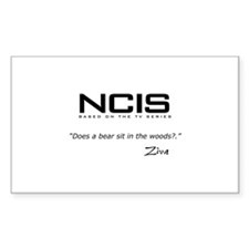 NCIS Ziva David Bear Quote Decal