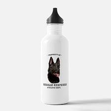German Shepherd Athletics Water Bottle