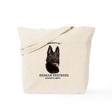 German Shepherd Athletics Tote Bag
