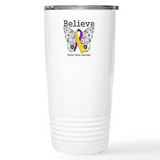 Believe Bladder Cancer Travel Mug