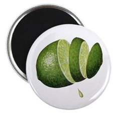 Lime Fridge Magnet