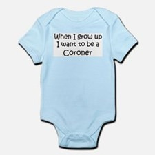 Grow Up Coroner Infant Creeper