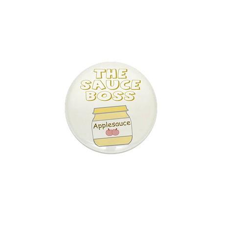 The Sauce Boss Baby Jar Mini Button (10 pack)