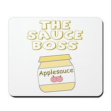The Sauce Boss Baby Jar Mousepad