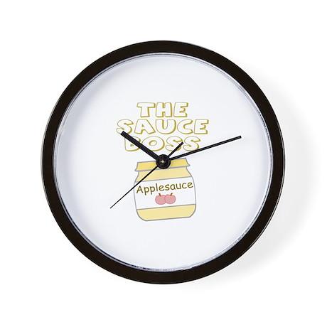 The Sauce Boss Baby Jar Wall Clock