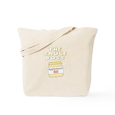 The Sauce Boss Baby Jar Tote Bag
