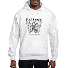 Believe Brain Cancer Jumper Hoody
