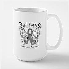 Believe Brain Cancer Mug