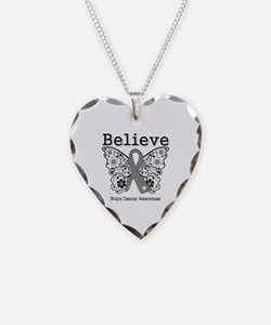 Believe Brain Cancer Necklace
