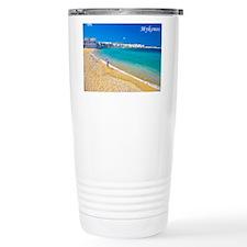 Cute Greek islands Travel Mug