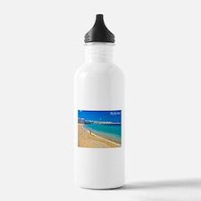 Funny Greek islands Water Bottle