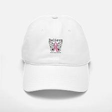 Believe Breast Cancer Baseball Baseball Cap