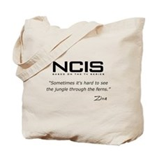NCIS Ziva David Jungle Quote Tote Bag