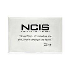 NCIS Ziva David Jungle Quote Rectangle Magnet