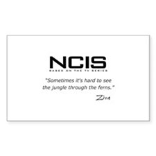 NCIS Ziva David Jungle Quote Decal