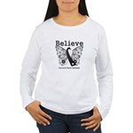 Believe - Carcinoid Cancer Women's Long Sleeve T-S