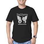Believe - Carcinoid Cancer Men's Fitted T-Shirt (d