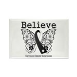 Believe - Carcinoid Cancer Rectangle Magnet (100 p