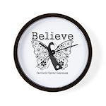Believe - Carcinoid Cancer Wall Clock