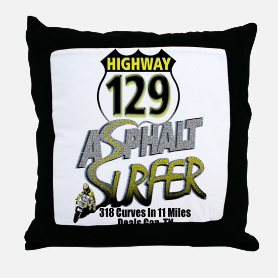 Tail Of The Dragon Throw Pillow