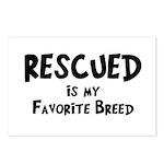 Favorite Breed Postcards (Package of 8)