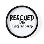 Favorite Breed Wall Clock