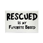 Favorite Breed Rectangle Magnet (100 pack)