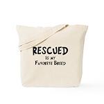 Favorite Breed Tote Bag