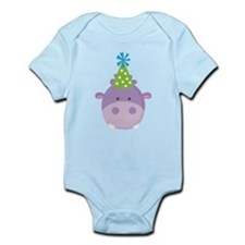 Birthday Hippo Onesie
