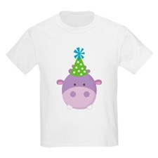 Birthday Hippo T-Shirt