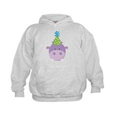 Birthday Hippo Hoodie