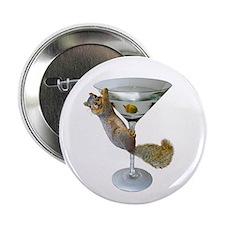 """Martini Squirrel 2.25"""" Button"""