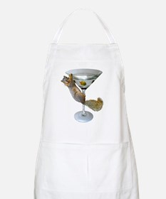 Martini Squirrel Apron