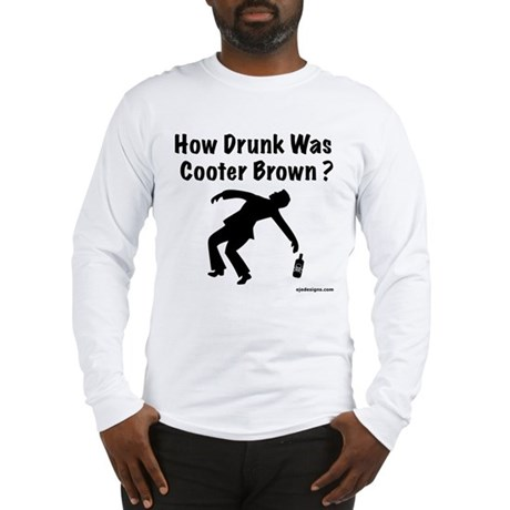 Cooter Brown Long Sleeve T-Shirt
