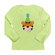 Birthday Tiger Long Sleeve Infant T-Shirt