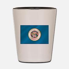 Minnesota Flag Shot Glass