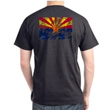 Arizona Grunge Flag T-Shirt