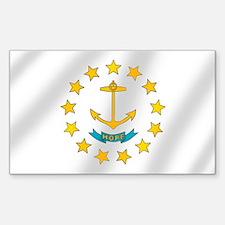 Rhode Island Flag Decal