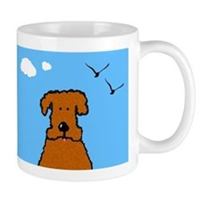 Lola The Curly Coated Dog Mug