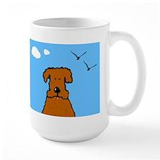 Lola The Curly Coated Dog Mug