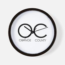 OC (Orange County) - Wall Clock
