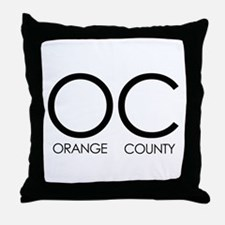 OC (Orange County) - Throw Pillow