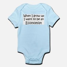 Grow Up Economist Infant Creeper