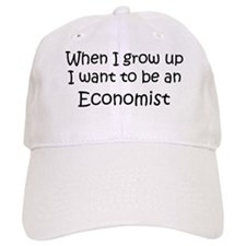 Grow Up Economist Baseball Cap