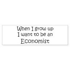 Grow Up Economist Bumper Bumper Sticker