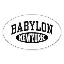 Babylon NY Decal